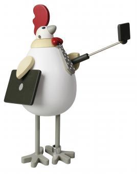 Miniaturendrechslerei Uhlig Hühnerei und Hahn Der fesche Rocco