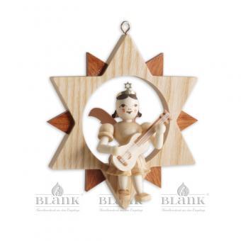 Blank Kurzrockengel mit Gitarre im Stern natur NEU 2021