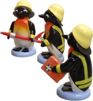 Drechslerei Ulbricht Pinguin Feuerwehr 3 teilig