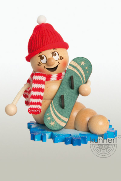 Rauchwurm Weihnachts-Rudi